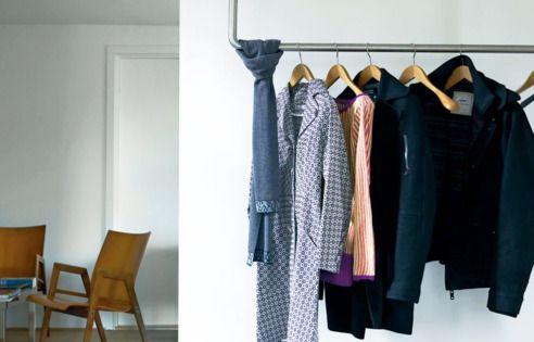 garderobe aus rohren cool garderobe flur pinterest rohre ergebnisse und garderoben. Black Bedroom Furniture Sets. Home Design Ideas