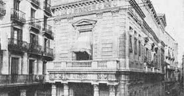 Antiguo casino mercantil el bols n 1890 situado en la - Escuela superior de diseno barcelona ...