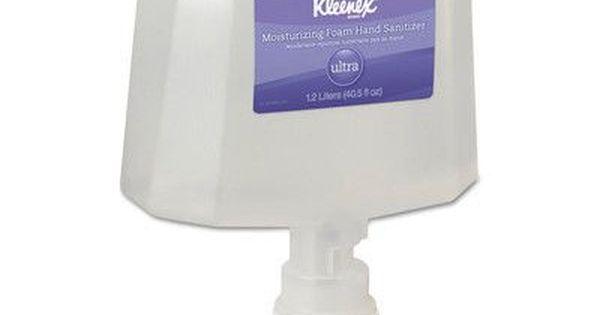 Kleenex Moisturizing Foam Hand Sanitizer Refill 40 6 Oz 2 Per