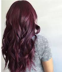 Haarfarbe aubergine lila