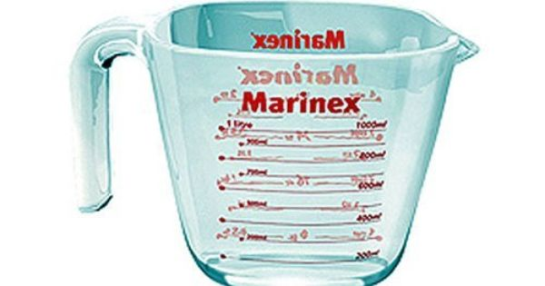 Marinex Glass Measuring Cup 8 5 Ounce By Marinex 17 75 5 By 3
