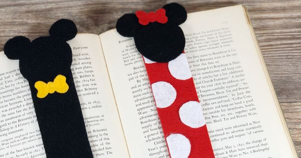 Minnie Wood Bookmark Invitation