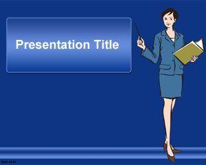 Plantilla Powerpoint De Secretaria Powerpoint Templates Powerpoint Template Free Powerpoint