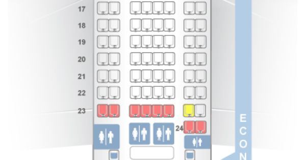 Seatguru Seat Map Turkish Airlines Airbus A330 300 333