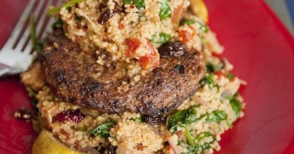 ... for Eats | Pinterest | Turkey Patties, Ground Turkey and Couscous