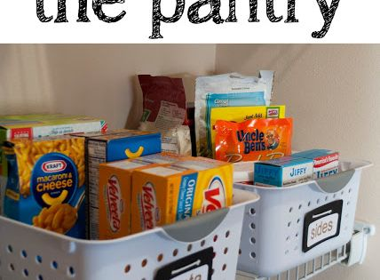 Tips for organizing pantries and clever food storage ideas that you might not have thought of!