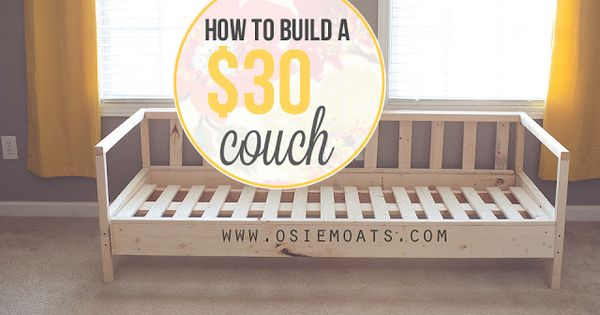 How To Build A 30 Couch Wwwosiemoatscom DIY amp Craft