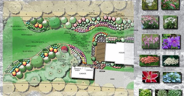 Exellent Cottage Garden Design 4 Calimesa Ca Intended Decorating