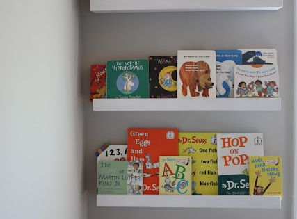 DIY Picture/Book Ledge - May be the perfect solution for part of