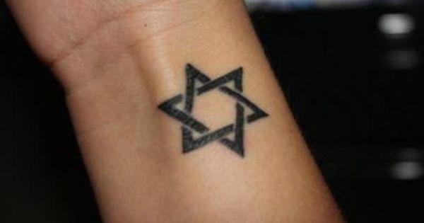 Estrella De David Tatuaje De Estrella De David Tatuajes Cuello