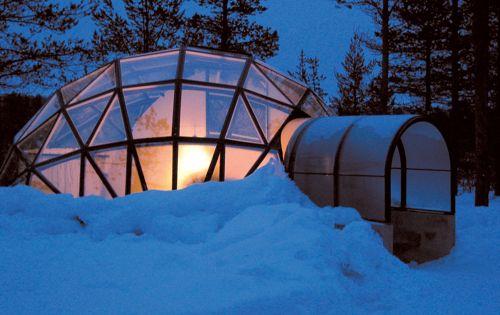 kakslauttanen glass igloo village, finland | Glass Igloo Hotel Kakslauttanen | Travel