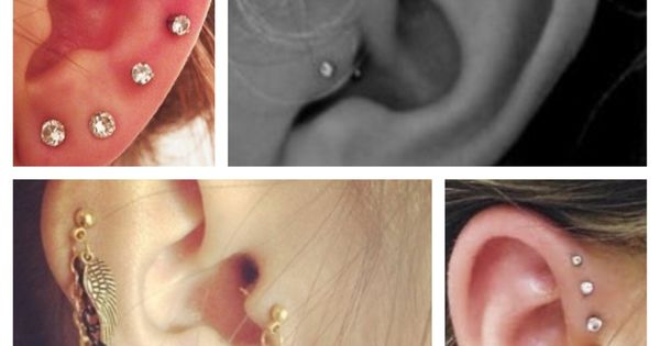 Cute Ear Piercing Ideas!!