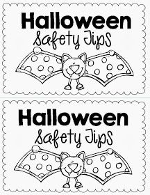 First Of All Congrats To Sarah Paul And Angel Chism For Winning My November Read And Writes I Halloween Safety Halloween Safety Tips Halloween Kindergarten