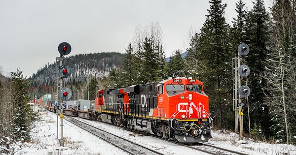Railpictures Net Photo Cn 2991 Canadian National Railway Ge