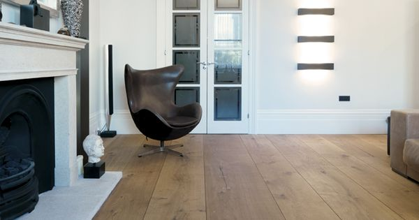 Dinesen HeartOak planks. And The Egg chair in the background ;) allgoodthings