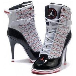 Jordan high heels, Nike high heels