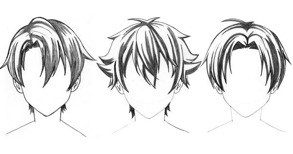 Top 3 Anime Boy Hair Style Drawing Tutorial Step By Step Https Www Youtube Com Watch V Lbgtaoayqa4 Anime Boy Hair Anime Character Drawing Boy Hair Drawing
