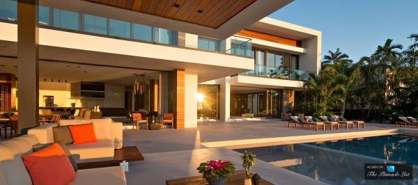 Casa Clara Luxury Residence Di Lido Island Miami Beach Florida Casas De Ensueno De Lujo Diseno Casas Modernas Casas De Ensueno