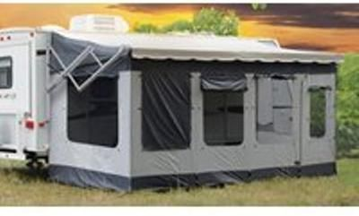 How Do I Add A Screen Room To My Rv S Awning Camping Rv Rv Camping