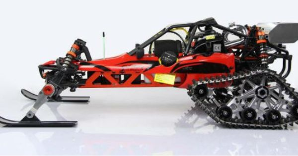 1 5 Scale Rc Buggy With Track Ski Combo Car Modification Ideas Futuristic Cars Rc Cars