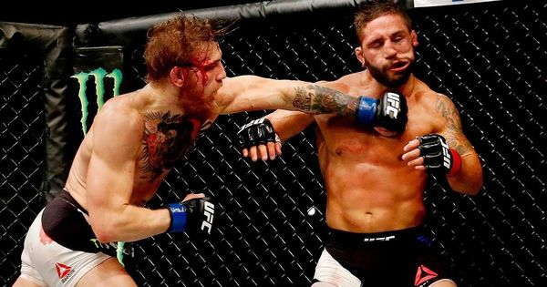 Winning The Intern Belt Conor Mcgregor With The Tko In 2020 Ufc Conor Mcgregor Knockout Martial Arts Sparring