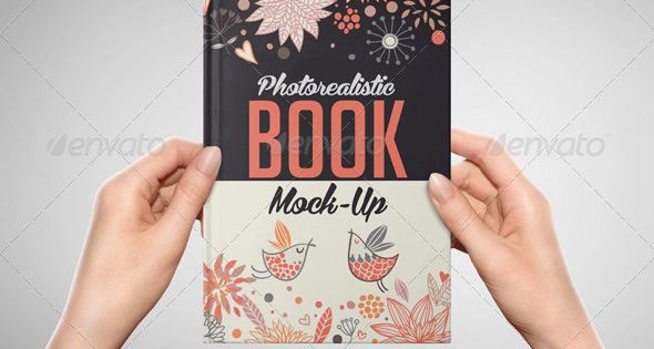 Photorealistic Book Mock-Up – Books Print