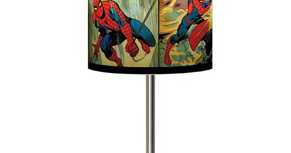 Spider Man Panels Lamp Shade for boys room