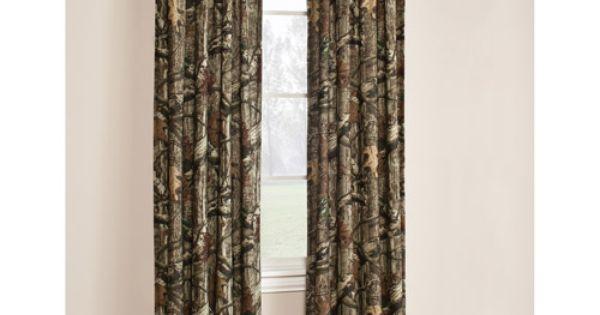 The Boy wants a camo/hunter theme bedroom. Mossy Oak Break-Up Infinity Window