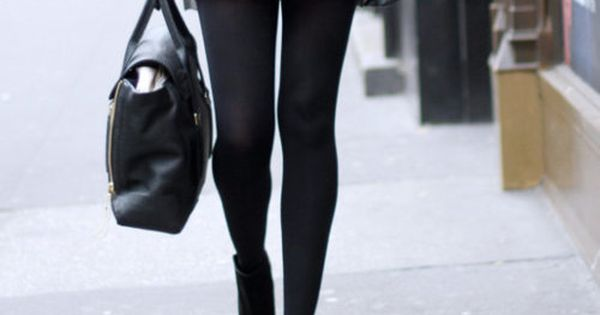 Sequin Skirt, Tights and Black Booties