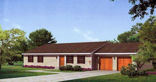 Curb appeal ideas for small ranch style homes just one of for Ranch house curb appeal