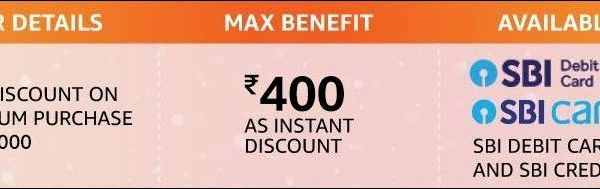 Shop Worth Rs 2000 Or More Using Sbi Debit Or Credit Card And Get