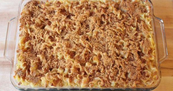Creamy Noodle Kugel | Pasta | Pinterest | Noodles and San Diego