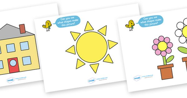 Twinkl Resources >> 2D Shape Activity Pictures >> Classroom printables ...