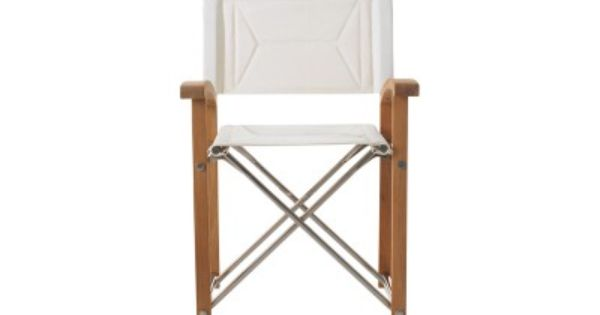 Folding Director Chair By Summit Designed By John Munford Summit Furniture Furniture Dining Chair Design
