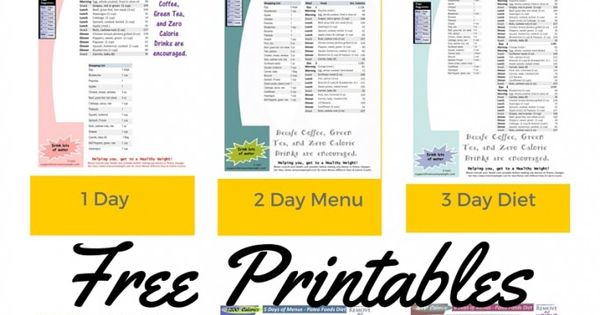 Printable 1200 Calorie Paleo Diet for 6 Days or less ...