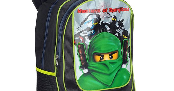 Lego Ninjago Backpack Black (TRU)
