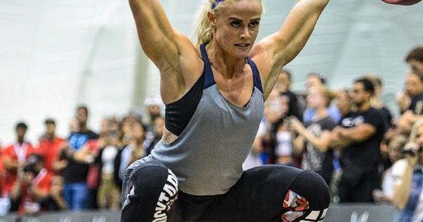 Ragnheiður Sara Sigmundsdottir at the Dubai Fitness ...
