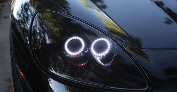 Chevy C6 Corvette Switchback Angel Eyes 025 Corvette Custom Muscle Cars Chevy Corvette