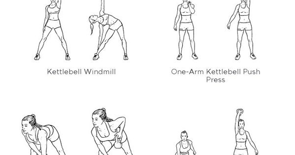 kettlebell core  workout  my custom printable workout by