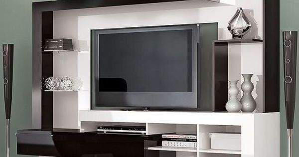 centro de entretenimiento coole ideen pinterest tv. Black Bedroom Furniture Sets. Home Design Ideas