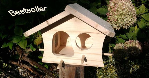 vogelhaus vogelvilla futterhaus bemalen j tland. Black Bedroom Furniture Sets. Home Design Ideas