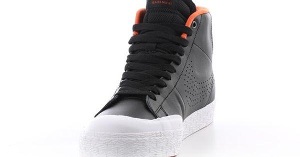 Nike Sb Blazer Zoom Mid Xt Skate Shoes Black X2f Metallic Silver White Donnie Free Shipping Nike Sb Skate Shoes Nike Skateboarding