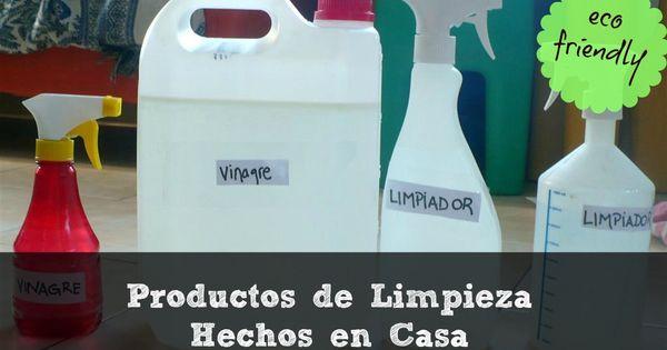 Productos de limpieza hechos en casa ecologicos y - Productos de limpieza caseros ...