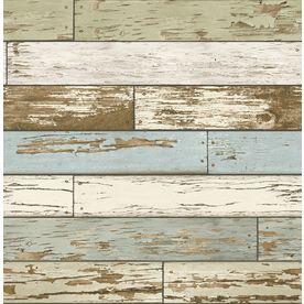Scott Living 30 75 Sq Ft Grey Vinyl Textured Wood 3d Self Adhesive Peel And Stick Wallpaper Lowes Com Paintable Textured Wallpaper Peel And Stick Wallpaper Self Adhesive Wallpaper