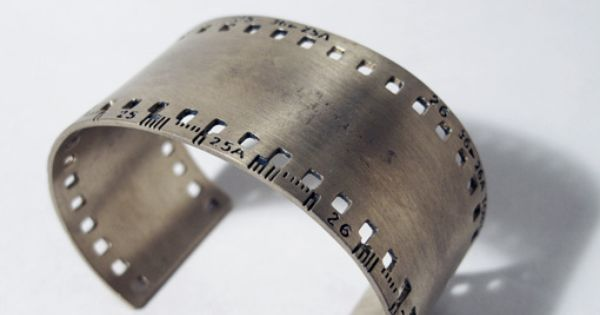 35mm film bangle