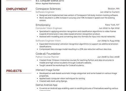 best font for resume 2015 resume fonts