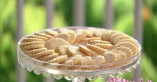 Cookies From Sable Dough | Cookies, Martha Stewart and Videos