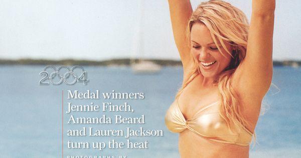 Sports Illustrated, Winter 2005, Jennie Finch wears Karla ...