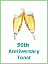 The Best 50th Wedding Anniversary Gift And Party Ideas 50th Anniversary Toasts 50th Wedding Anniversary 50th Wedding Anniversary Invitations