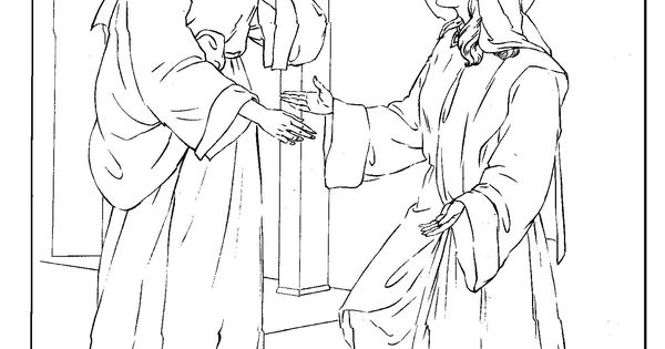 elizabeth bible coloring pages - photo#18